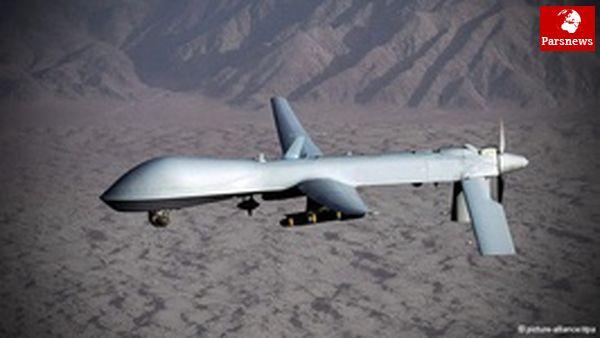 شکار یک پهپاد خارجی توسط سپاه
