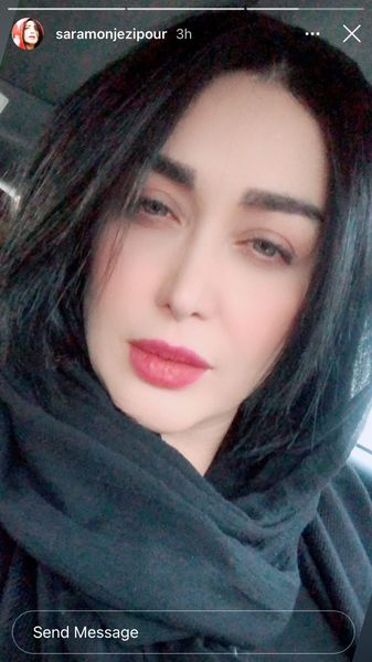 ظاهر جدید سارا منجزی پور + عکس
