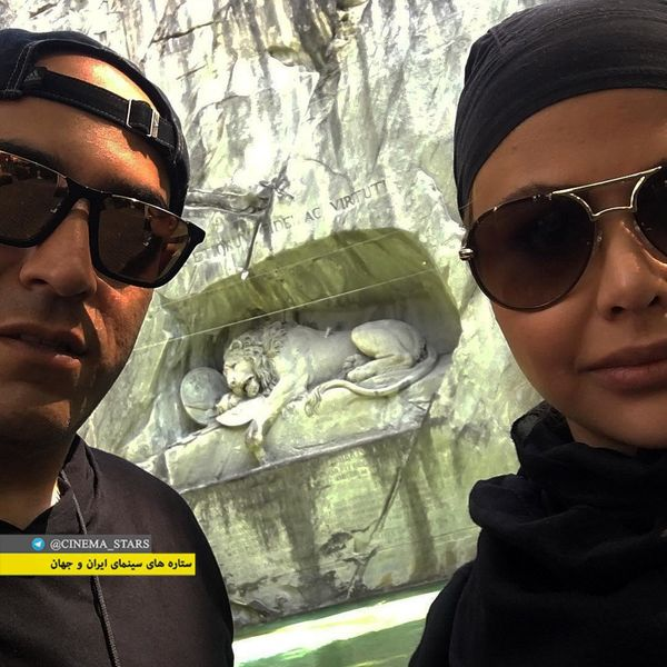 عکس پسر بازیگر داریوش ارجمند و همسرش+عکس