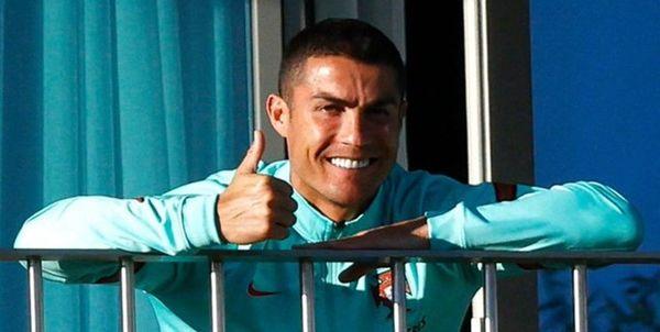 رونالدو از دایی تشکر کرد