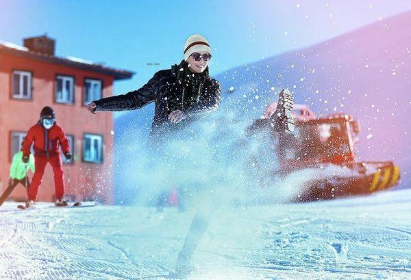 سحر قریشی در پیست اسکی + عکس