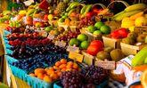 بازار میوه و ترهبار یخ زد