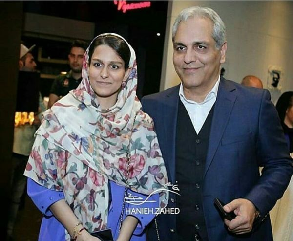 مهران مدیری در کنار دخترش+عکس