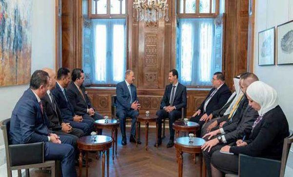 پیام شفاهی که بشار اسد برای ملک عبدالله دوم فرستاد