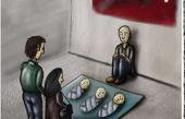 کاریکاتور بحران نوزاد فروشی