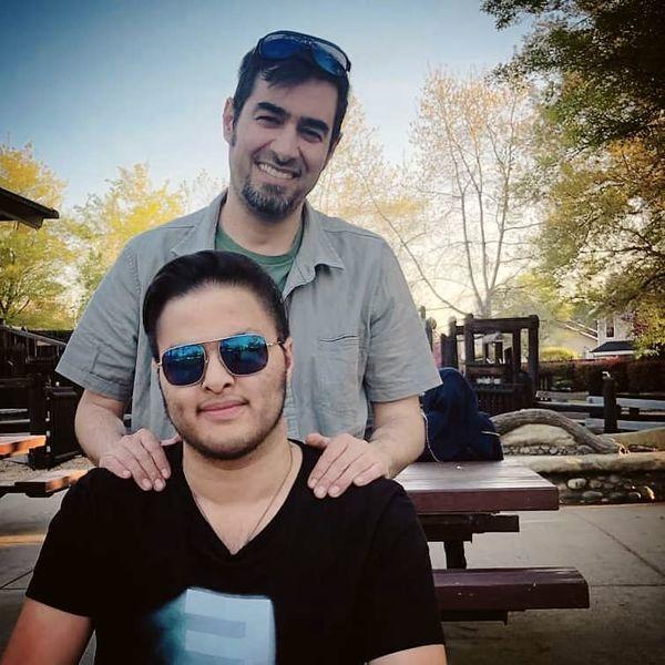شهاب حسینی و پسر رشیدش + عکس