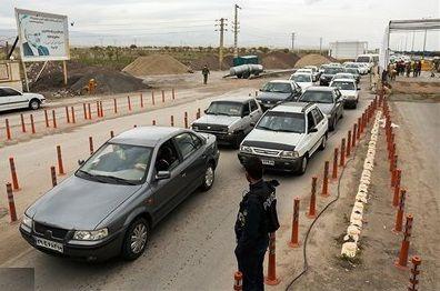 توقیف یک ماهه ۱۰۰۰ دستگاه وسیله نقلیه در طرح فاصله گذاری اجتماعی
