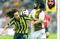 درگیری خونین در لیگ فوتبال عربستان +عکس