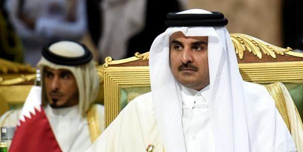 درخواست امیر قطر از جامعه جهانی