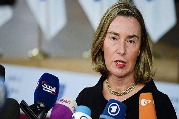 هشدار موگرینی به آنکارا درباره عملیات احتمالی ترکیه در شمال سوریه