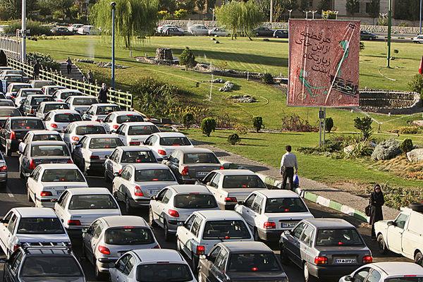 ترافیک پرحجم جادههای شمال در آستانه عیدفطر