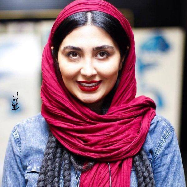 شلوار عجیب  بازیگر زن سنما و تلوزیون در جشن تولد دوستش + عکس