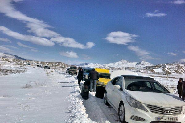 بارش برف در ارتفاعات شمالی و غربی کشور