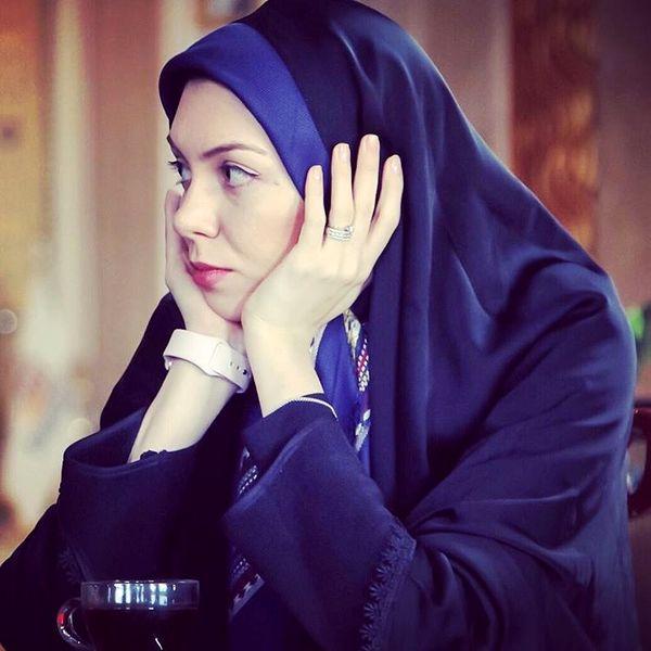 مجری جنجالی در تهران بدون چادر+عکس