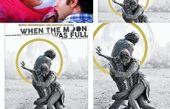 پوستر عاشقانه و هنرمندانه شبی که ماه کامل شد+عکس