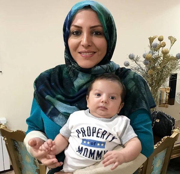 المیرا شریفی مقدم و برادرزاده اش + عکس