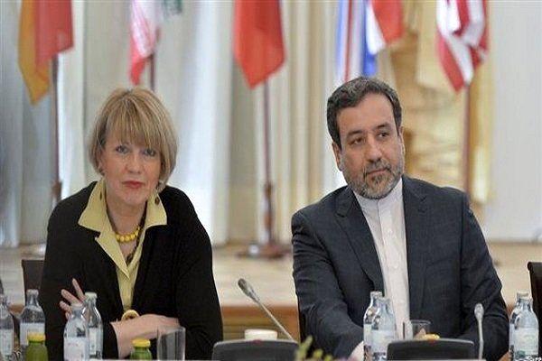 عراقچی با اشمید در بروکسل دیدار و گفتگو کرد