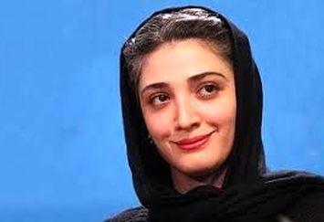 مینا ساداتی غرق در تفکر /عکس