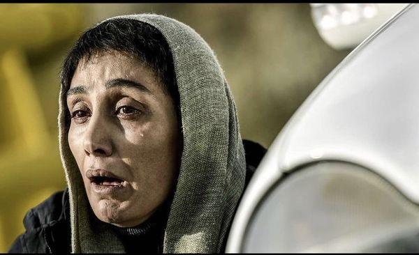 تصویر سانسور از هدیه تهرانی در همگناه + عکس