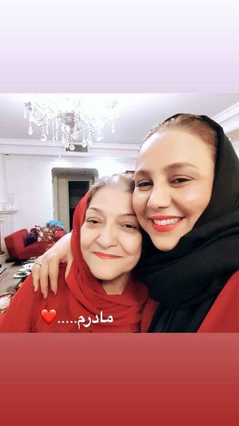 بهنوش بختیاری و مادرش + عکس