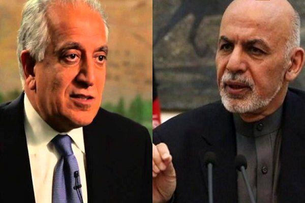 دیدار نماینده ویژه آمریکا با رئیسجمهوری افغانستان