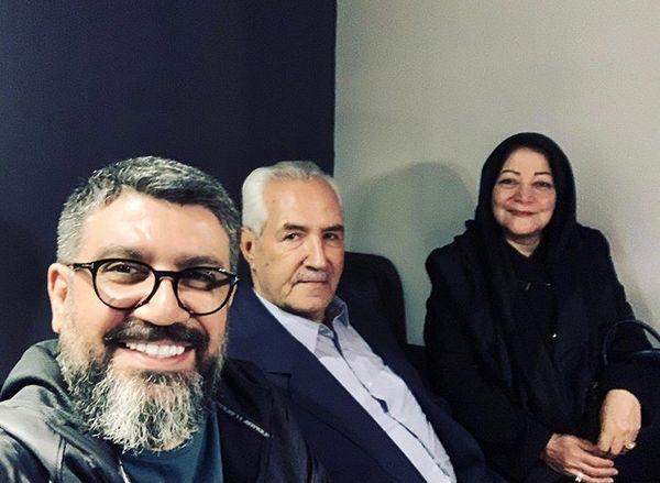 رضا رشیدپور داغدار شد + عکس