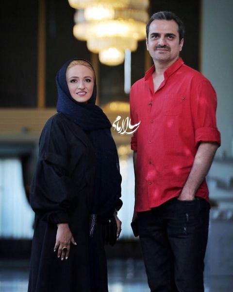 عکس گلاره عباسی با همسر شبنم مقدمی