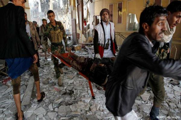 یورش جنگندههای سعودی به «صنعاء»