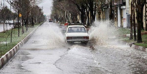 هشدار درباره بارشهای سیلآسا