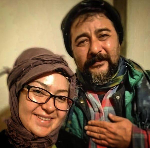 تیپ امیرحسین صدیق وهمسرش در قرنطینه خانگی + عکس