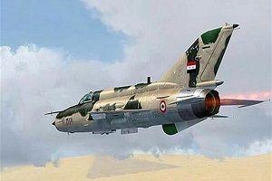 حمله جنگندههای عراقی به مواضع داعش در دیرالزور سوریه