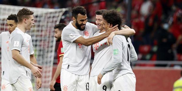 برد بایرن مونیخ با دبل لواندوفسکی در جام باشگاه های جهان
