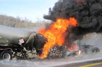 افزایش شمار قربانیان انفجار تانکر سوخت در کلمبیا