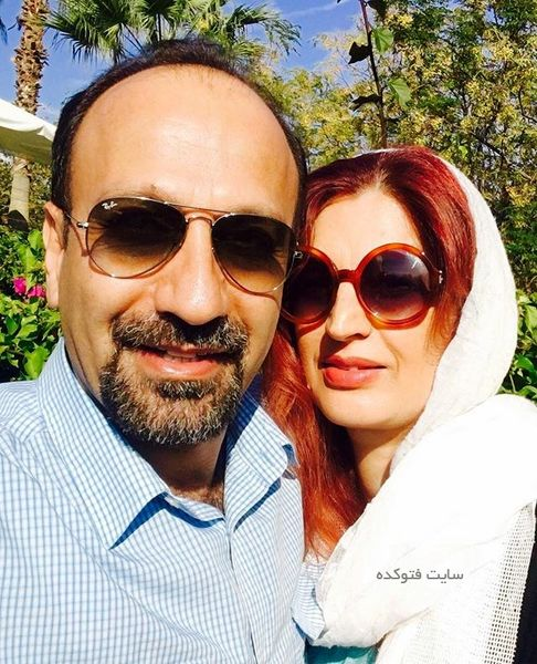 سلفی جدید اصغر فرهادی و همسرش در «کن»