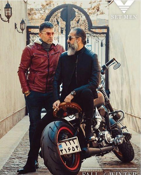 موتورسیکلت خفن علی فرهانی + عکس