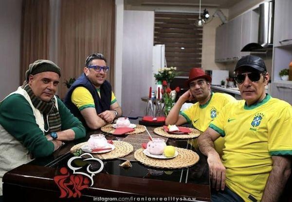 تم متفاوت شرکت کنندگان شام ایرانی + عکس