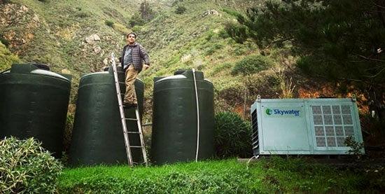 عملیاتی شدن ایدههای جذاب برای آب گرفتن از هوا