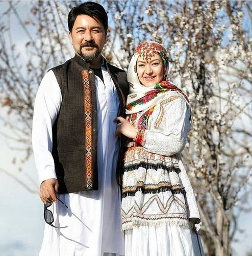 شباهت جالب  امیرحسین صدیق و همسرش+عکس