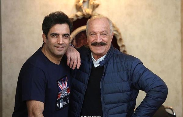 سعید راد در کنار کارگردان معروف + عکس