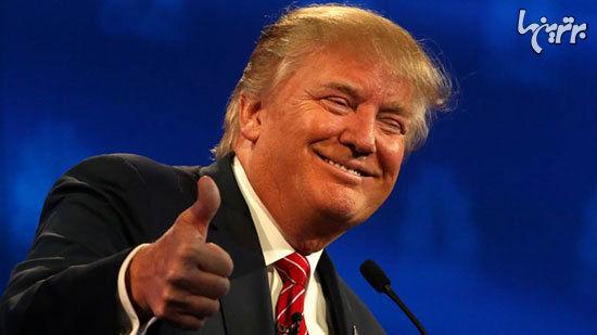 چرا صورت دونالد ترامپ نارنجی است؟