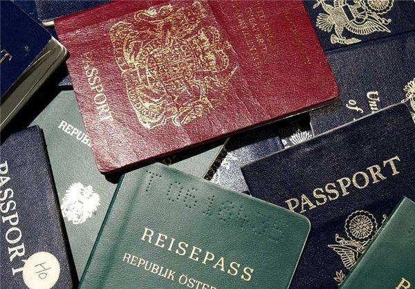 رنگ متقاوت گذرنامه های هر کشور نشانه چیست؟