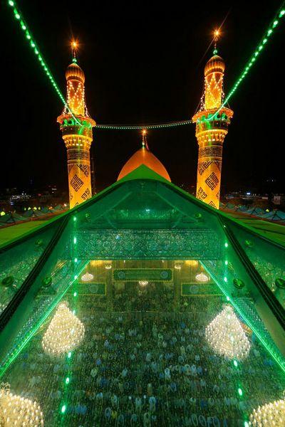 تصویر ویژه از حرم حضرت ابالفضل