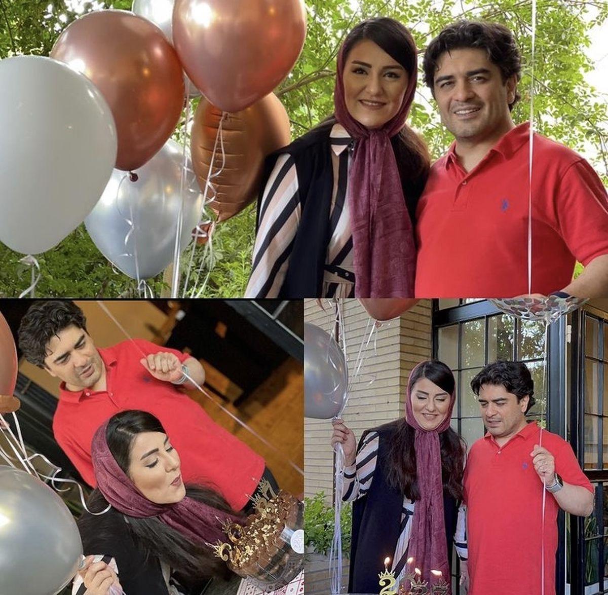 تولد خانگی همسر پیانیست مشهور + عکس