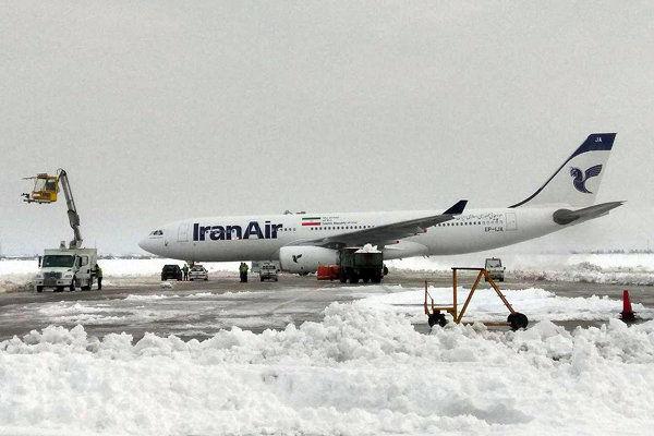 آخرین وضعیت پروازها در فرودگاههای کشور