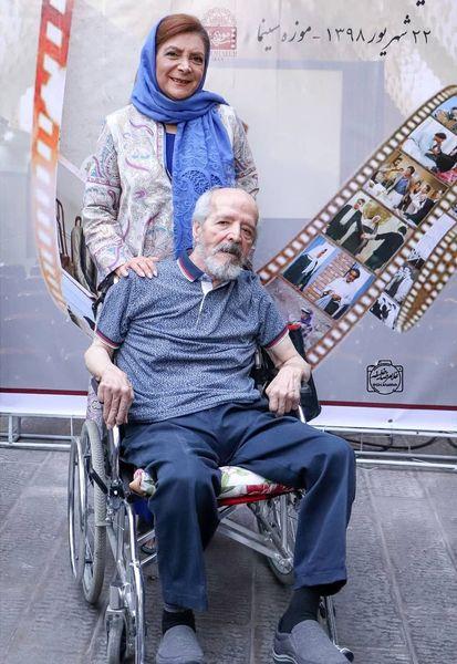 عکس بازیگر سریال هیولا در کنار همسرش