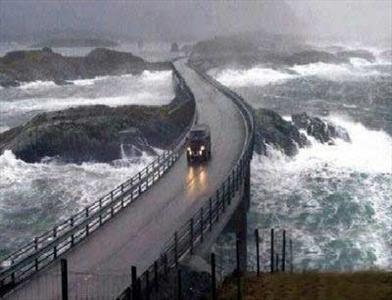 شگفتی را در جاده اقیانوس اطلس ببینید! + تصاویر