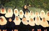 قیافه همیشه نامرتب سمانه پاکدل در کودکی+عکس