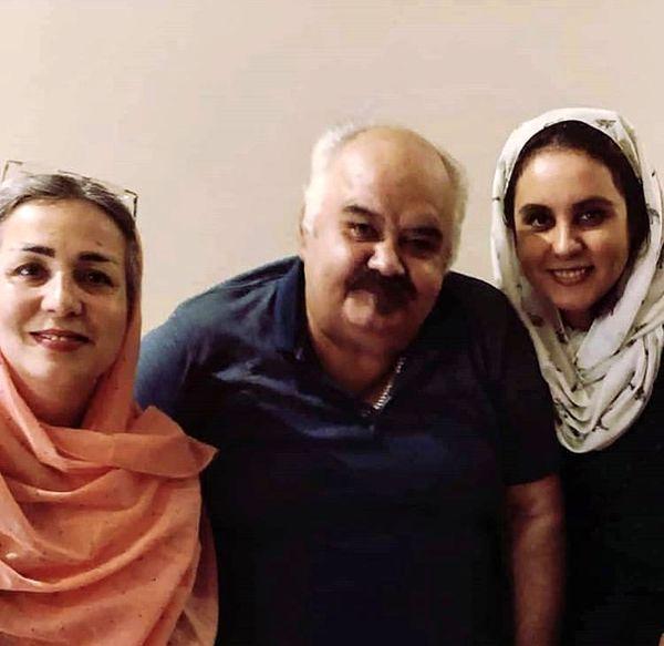 اکبر عبدی و خانواده اش + عکس