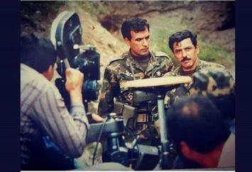 عکس دیدنی از جوانی فرامرز قریبیان و عبدالرضا اکبری در جنگ