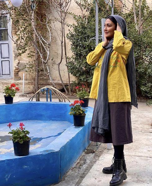 حوضه خانه قدیمی مریم معصومی + عکس